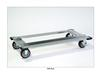 SQUARE POST WIRE SHELVING - HEAVY-DUTY DOLLY BASES