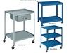 "UTILITY TABLES & CARTS - WITH 5"" CASTERS"