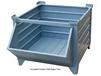 CORRUGATED BULK STEEL CONTAINERS WITH HOPPER FRONT